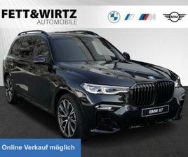 BMW X7 M50D LASER ACC FOND-ENT. B&W STANDHZ PANO AHK
