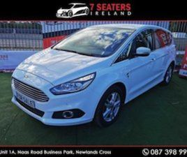 FORD S-MAX 2.0 LITRE DIESEL FOR SALE IN DUBLIN FOR €19900 ON DONEDEAL