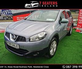 NISSAN QASHQAI +2 CLICK COLLECT/DELIVERY SVE GLA FOR SALE IN DUBLIN FOR €9,900 ON DONEDEAL