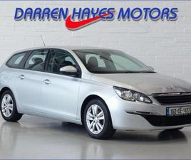 PEUGEOT 308 ACTIVE BLUEHDI 120 STOP-START FOR SALE IN CARLOW FOR €12,945 ON DONEDEAL
