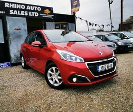 PEUGEOT 208, 2018. LOW MILAGE FOR SALE IN LIMERICK FOR €11,499 ON DONEDEAL