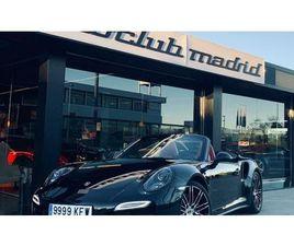 PORSCHE 911 TURBO CABRIOLET PDK DESCAPOTABLE O CONVERTIBLE DE SEGUNDA MANO EN MADRID | AUT