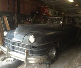 FOR SALE: 1948 CHRYSLER NEW YORKER IN CADILLAC, MICHIGAN