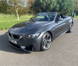 USED 2018 BMW 4 SERIES 3.0 M4 2D 426 BHP CONVERTIBLE 17,000 MILES IN GREY FOR SALE | CARSI
