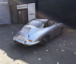 PORSCHE 356 SC 1964 AVEC PTH FIA/FFSA VHC