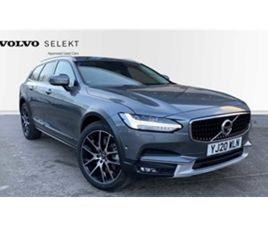 USED 2020 VOLVO V90 D4 AWD CROSS COUNTRY PLUS AUTOMATIC XENIUM PACK, WINTER PACK, INTELLIS