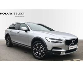 USED 2019 VOLVO V90 D4 AWD CROSS COUNTRY NAV PLUS (XENIUM PACK, INTELLISAFE SURROUND) NOT