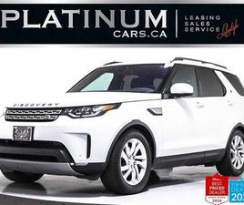 USED 2017 LAND ROVER DISCOVERY HSE TD6, DIESEL, 7 PASS, NAV, PANO, CAM, MERIDIAN