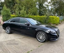 USED 2016 MERCEDES-BENZ S CLASS SALOON 95,000 MILES IN BLACK FOR SALE | CARSITE