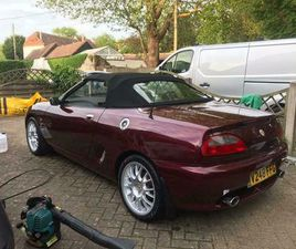 MG, MGF, CONVERTIBLE, 1999, MANUAL, 1796 (CC), 2 DOORS