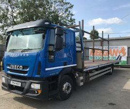 IVECO EURO CARGO 140E25. 32FT FLAT BED SLEEER CAB. FOR SALE IN LOUTH FOR € ON DONEDEAL