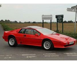LOTUS ESPRIT TURBO HC, 1987. 28,000 MILES FROM NEW. PRICE ON APPLICATION