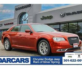 BRAND NEW ORANGE COLOR 2020 CHRYSLER 300 TOURING FOR SALE IN SILVER SPRING, MD 20904. VIN