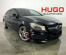 MERCEDES BENZ CLA 45 AMG SHOOTING BREAK PACK NIGHT 4-MATIC A GASOLINA NA AUTO COMPRA E VEN