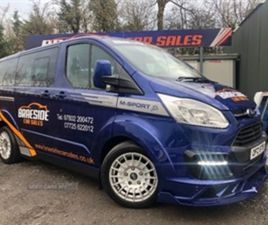 USED 2017 FORD TOURNEO CONNECT 2.0 TDCI 170 BHP 6 SPD M SPORT 8 SEATER TOP SPEC MUST BE SE