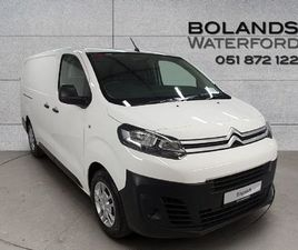 CITROEN DISPATCH LWB 1.5 BLUEHDI FROM 76 PER WEEK FOR SALE IN WATERFORD FOR €18,400 ON DON