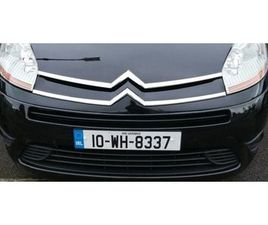 2010 CITROEN GRAND C4 PICASSO 1.6 HDI VTR+ NCT FOR 2 YEARS