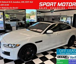 USED 2018 JAGUAR XE R-SPORT AWD+LANE KEEP ASSIST+ACCIDENT FREE