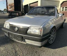 ② OPEL ASCONA 1.8 BENZINE AUTOMAAT CABRIOLET - OLDTIMERS & ANCÊTRES