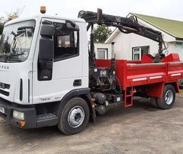 IVECO EUROCARGO 75E180 2010 TIPPER GRAB FOR SALE IN DOWN FOR €1 ON DONEDEAL