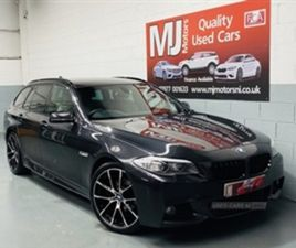 USED 2013 BMW 5 SERIES M SPORT ESTATE 64,000 MILES IN GREY FOR SALE | CARSITE