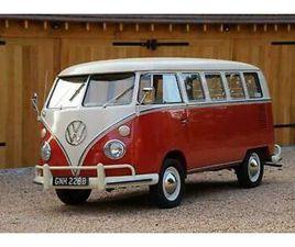 1964 VW SPLIT SCREEN '13 WINDOW DELUXE' CAMPER VAN. CALIFORNIAN IMPORT. RESTORED