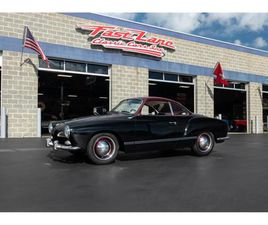 FOR SALE: 1965 VOLKSWAGEN KARMANN GHIA IN ST. CHARLES, MISSOURI