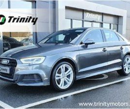 AUDI A3 S LINE TFSI 150 COD LOW MILES SAT NAV FOR SALE IN WEXFORD FOR €23945 ON DONEDEAL