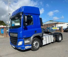 2015 DAF CF 440 6X2 UNIT WITH TIPPING GEAR 406KMS FOR SALE IN ARMAGH FOR €1 ON DONEDEAL