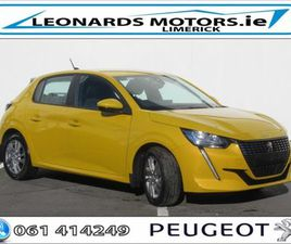 PEUGEOT 208 ACTIVE 1.2 P 75BHP 5DR FOR SALE IN LIMERICK FOR €17,430 ON DONEDEAL