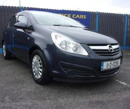 OPEL CORSA, 2011 1.0 PETROL LOW MILEAGE 5 DOOR FOR SALE IN DUBLIN FOR €5450 ON DONEDEAL