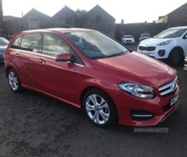 USED 2017 MERCEDES-BENZ B CLASS 180 SPORT D MPV 21,950 MILES IN RED FOR SALE   CARSITE
