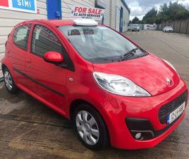 PEUGEOT 107 (2 YEAR NCT) ONLY 57K FOR SALE IN DUBLIN FOR €4,950 ON DONEDEAL