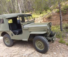 JEEP WILLYS - WILLYS CJ3