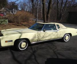 FOR SALE: 1978 CADILLAC ELDORADO BIARRITZ IN BANGOR, PENNSYLVANIA
