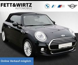 MINI COOPER CABRIO AUT. LED NAVI SPORTS. SHZ PDC