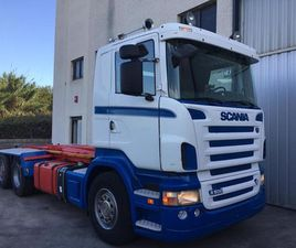 SCANIA R500-EURO 5 - GANCHO MULTILIFT PORTACONTENED