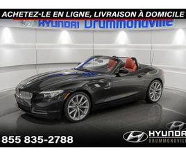 BMW Z4 2011 35I + GARANTIE + 44 822 KM + CUIR ROUGE
