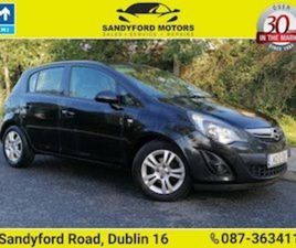 OPEL CORSA 1.2 16V (85PS) SC S/S FOR SALE IN DUBLIN FOR €6900 ON DONEDEAL
