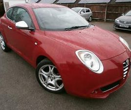 2012 12 ALFA ROMEO MITO DISTINCTIVE TWINAIR, 900CC PETROL, 85BHP, 3 DOOR HATCH