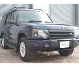 USED 2003 LAND ROVER DISCOVERY SERIES 2 V8 4.0 NOT SPECIFIED 47,000 MILES IN ROYAL BLUE ME