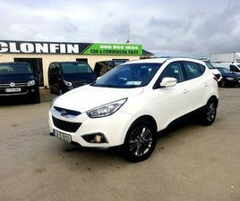 2014 HYUNDAI IX35 4WD MODEL FOR SALE IN LONGFORD FOR €13,750 ON DONEDEAL