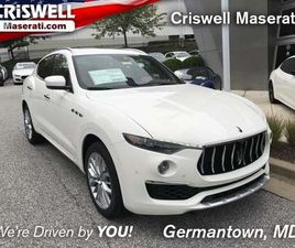 BRAND NEW 2020 MASERATI LEVANTE GRANLUSSO FOR SALE IN GERMANTOWN, MD 20874. VIN IS ZN661XU