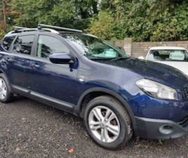 2010 NISSAN QASHQAI +2 N-TEC 7 SEATER NEW NCT FOR SALE IN DUBLIN FOR €6450 ON DONEDEAL
