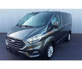 FORD CUSTOM CABINE APPROFONDIE BVA 6 PLACES