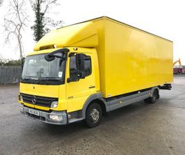 SOLD. MERCEDES BENZ ATEGO 816 BOX FOR SALE IN ARMAGH FOR £1 ON DONEDEAL