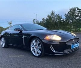 USED 2009 JAGUAR XK AUTO COUPE 62,000 MILES IN BLACK FOR SALE | CARSITE