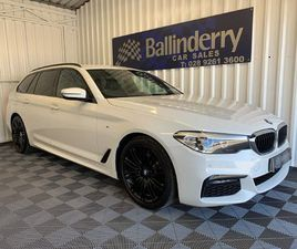 BMW 5 SERIES 2.0 520D M SPORT TOURING AUTO XDRIVE (S/S) 5DR