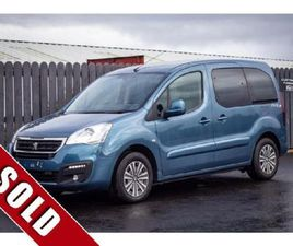 PEUGEOT PARTNER TEPEE ALLURE 1.6 BLUEHDI 100 162 FOR SALE IN DONEGAL FOR €15,500 ON DONEDE