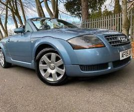 *IMMACULATE AUDI TT ROADSTER(150BHP)CONVERTIBLE WITH ONLY 71K 12 MTHS MOT*
